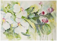 Uncertainty and staring into the abyss - the watercolor journey