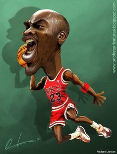MJ Caricature