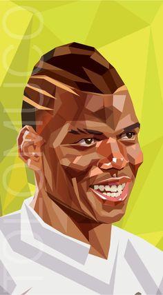 World Cup Players by Daniel Solano, via Behance Lionel Messi, Creative Art, Creative Design, Good Soccer Players, Football Art, Sports Art, Fifa World Cup, Art World, Caricature