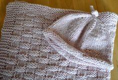 Basket weave knit pattern