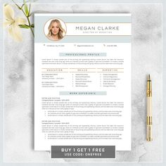 Resume  Free Cover Letter Resume Cv And Professional Resume Template