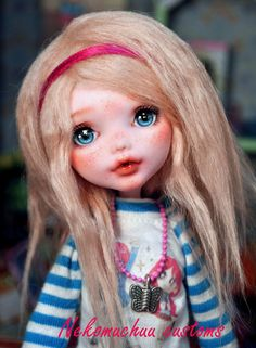 OOAK Custom Monster High doll Repaint Mattel/ by Nekomuchuu