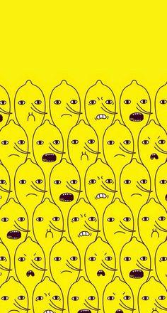 Yellow man emotion