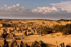 Australia- Perth photographer Michael Poliza Pinnacles Desert, Places Around The World, Around The Worlds, Perth Western Australia, I Want To Travel, Southeast Asia, Places To Travel, Countries, Beautiful Places