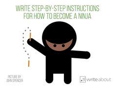 How to become a ninja