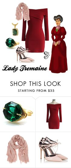 """""""Disney's Cinderella-Lady Tremaine"""" by styledright ❤ liked on Polyvore featuring Chicwish, Mint Velvet, Fratelli Karida and BillyTheTree"""