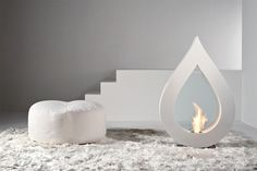 There are many solutions when it comes to the installation of a state-of-the-art fireplace, and this range from Acquaefuoco is worth a browse.