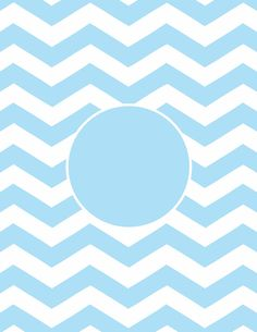 Chevron Printable Monogram - Could modge podge onto a tray or put in a picture frame.....