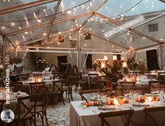 Una imagen del banquete de bodas. (Instagram Stories)