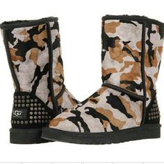TODAY only  $99 at Brooklynns. AMAZING sale price for these pony hair camo UGG