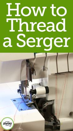 Threading a serger is never any fun, no matter how experienced of a sewer you may be. Aurora Sisneros walks us through her way of completing this tedious task and make it a bit easier, and less time consuming. This helpful trick can make a sewer's life much easier! Watch and learn today how threading your serger can become an easier task than you think.