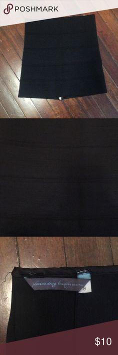 Pleasure Doing Business Collection - Skirt Black bodycon bandage skirt  Size small Pleasure Doing Business Skirts Mini