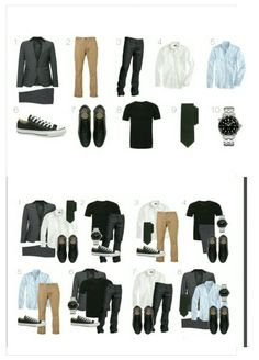 Mens wardrobe essentials, men's wardrobe, capsule wardrobe men, suit f Capsule Wardrobe Men, Mens Wardrobe Essentials, Capsule Outfits, Men's Wardrobe, Men's Business Outfits, Business Casual Men, Men Casual, Casual Bags, Minimalist Wardrobe Men