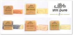 Still Pure Soaps Natural Skin, Natural Beauty, Natural Stills, Pure Soap, Skin Detox, Soaps, Body Care, Place Card Holders, Pure Products