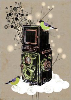 #vintage #camera rolleiflex #art