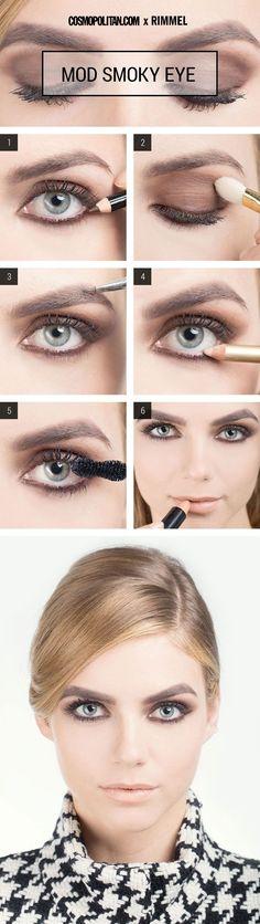 Mod Smoky Eye Makeup Tutorial