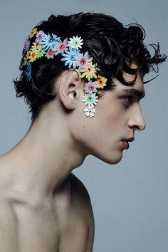 Znalezione obrazy dla zapytania flower face tumblr