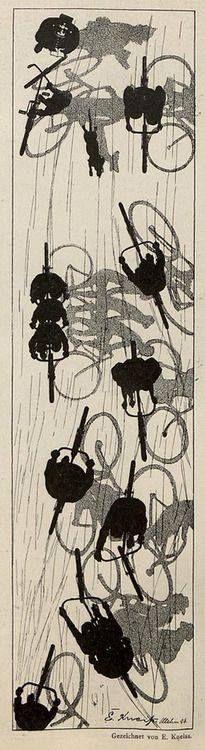 FB / Emil Kneiß (1867-1956), Jugend magazine, 1896.
