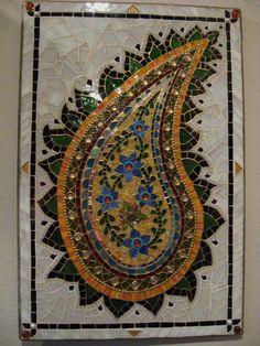 Paisley mosaic
