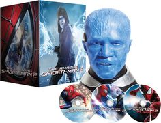 The Amazing Spider-Man 2 Blu-ray avec le buste Electro - Edition limitée Sara Paxton, Elijah Wood, Spider Man 2, The Amazing Spiderman 2, Amazon Movies, Ray Film, Movie Gift, Andrew Garfield, Edition Limitée