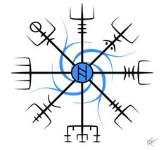 norse compass | Viking Compass Tattoo