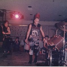 The exploited US tour 1985