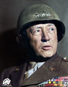 General George S. Patton – one of the most brilliant commanders of WW2 but some would disagree