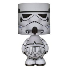 Make your children live out your fantasies with this Stormtrooper Character Lamp - $40