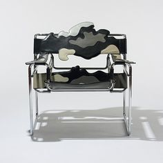 Alessandro Mendini (designer), Wassily chair, 1978.