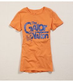 I thought I stopped buying tees from AE long ago, but I really want this one! Go Gators! :o)