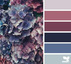 How very pretty is this palette? jessica colaluca, design seeds today's inspiration image for flora tones is by Auntie Clara's Handcrafted Cosmetics . thank you Clara for another gorgeous inspiration image share! by auntieclaras Colour Pallette, Colour Schemes, Color Patterns, Color Combinations, Nursery Color Schemes, Maroon Color Palette, Vintage Color Schemes, Bedroom Colour Palette, Purple Palette