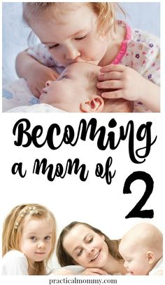 Things change when you add a new baby to the family. Tips on becoming a mom of two kids.