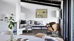 Modernt och stilrent drömboende i sjuttiotalsvillan