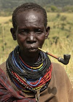 Uganda - tribes and culture Karamoja - The Ik is a small tribal group living in villages on the top of the mountains in the northern part of Karamoja, next to the Kidepo Valley National Park. Photo by Retlaw Snellac