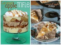 caramel apple trifle...other apple desserts