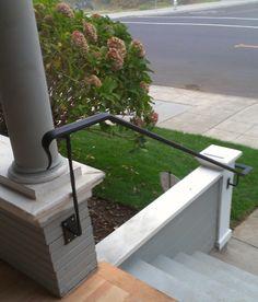 lamb's tongue #napa #custom #steel #railing