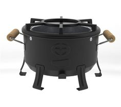 Envirofit Comapct charcoal stove. The world's most fuel-efficient charcoal stove! Compact, smart, durable and ultra-clean burning and efficient use of charcoal.
