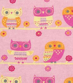 Snuggle Flannel Fabric-Triangle Owl Baby Fabric, Fleece Fabric, Red Flannel, Fabric Shop, Joanns Fabric And Crafts, Fabric Samples, Snuggles, Craft Stores, Triangle