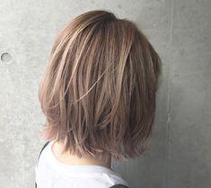 Pin on ヘアスタイル Hair Inspo, Hair Inspiration, Medium Hair Styles, Short Hair Styles, Layered Bob Short, Hair Arrange, Hair Images, Short Hair Cuts, New Hair