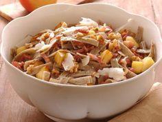 pizzoccheri-mele-e-noci ricetta Potato Salad, Cabbage, Grains, Spaghetti, Potatoes, Pasta, Vegetables, Ethnic Recipes, Carne