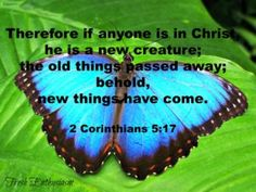 Verses to Know: 2 Corinthians 5:17
