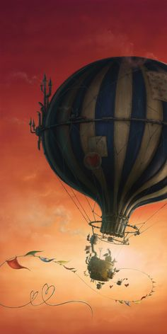 Hot Air Balloon by Michele Tanner