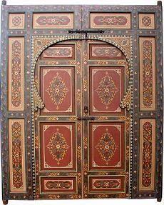moroccan doors on Pinterest | Moroccan Style, Doors and Painted Doors