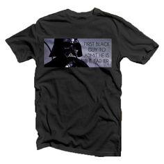 MATURE LISTING: Vader  First Black Guy To Admit by GramsTelegrams #shirt  #starwars  #darthvader  #vader  #sith