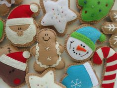 Ginger Cookie Tree Ornaments/ Christmas by GingerSweetCrafts
