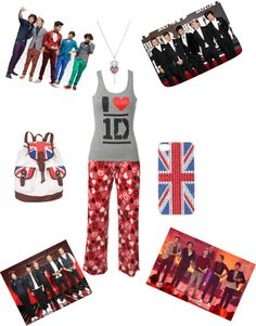 """""""1d"""" by hannah-burling ❤ liked on Polyvore"""