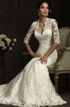 'Elegance' lace wedding dress