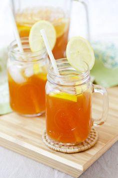 Ginger Lemongrass Detox Iced Tea Really nice recipes. Every  Mein Blog: Alles rund um Genuss & Geschmack  Kochen Backen Braten Vorspeisen Mains & Desserts!