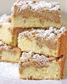 New York Crumb Coffee Cake 15 Delicious Coffee Cakes Totally Worth Waking Up For Crumb Coffee Cakes, Coffee Cake Muffins, Cake Recipes, Dessert Recipes, Desserts, Dessert Ideas, Just Cakes, Breakfast Items, Cooking Recipes
