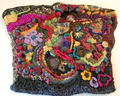 Free Form crocheting #coralreef #fairygarden The Topian Den